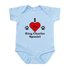 I Heart My King Charles Spaniel Onesie
