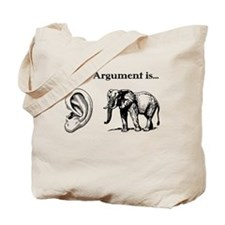 Ear Elephant Tote Bag