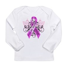 I Wear Pink for my Sister Long Sleeve Infant T-Shi