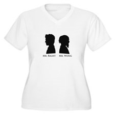Mr. Right Vs. Mr. Wong T-Shirt