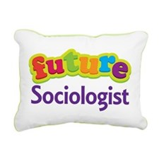 Future Sociologist Rectangular Canvas Pillow