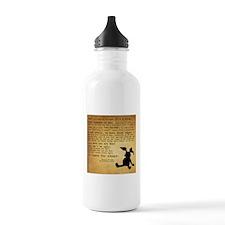 Velveteen Rabbit Print Water Bottle