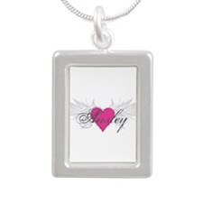 My Sweet Angel Ansley Silver Portrait Necklace