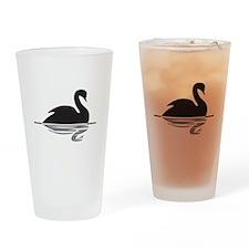 Black Swan Drinking Glass
