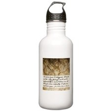 Pride and Prejudice Quote Water Bottle