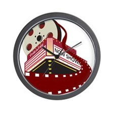 Cute Cinema Wall Clock