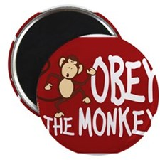 "Cute Monkey 2.25"" Magnet (10 pack)"