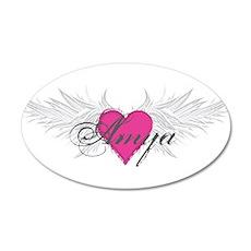 My Sweet Angel Amya 20x12 Oval Wall Decal