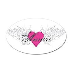 My Sweet Angel Amari 35x21 Oval Wall Decal