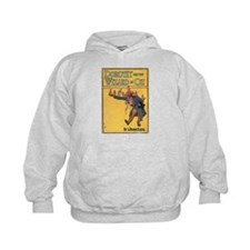 Dorothy and the WIzard in Oz Hoodie