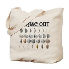 Moon Phase Out Tote Bag