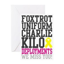 Foxtrot Uniform Charlie Kilo Deployments Card