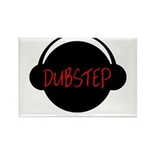 Dubstep Head Rectangle Magnet