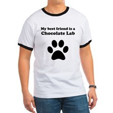 Chocolate Lab Best Friend T