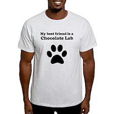 Chocolate Lab Best Friend T-Shirt