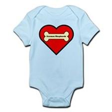 German Shepherds Heart Onesie