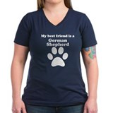 German Shepherd Best Friend Shirt