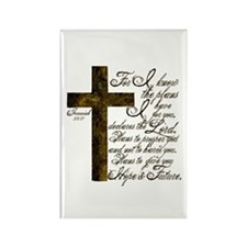 Plan of God Jeremiah 29:11 Rectangle Magnet