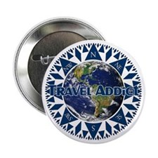 Travel Addict 'Compass' Button