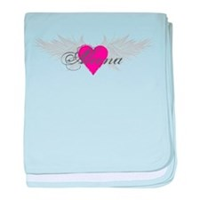 My Sweet Angel Aleena baby blanket