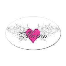 My Sweet Angel Alaina 20x12 Oval Wall Decal