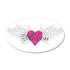 My Sweet Angel Aileen 35x21 Oval Wall Decal