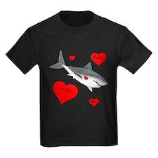 Personalized Shark Valentine T