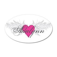 My Sweet Angel Adalynn 20x12 Oval Wall Decal