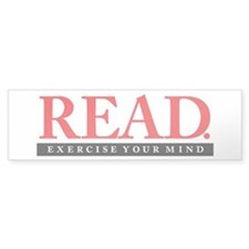 READ. Exercise. Bumper Sticker