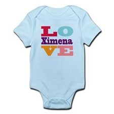 I Love Ximena Infant Bodysuit