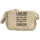 I am an entrepreneur Messenger Bag