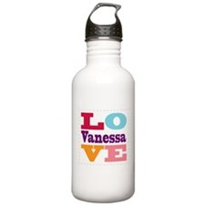 I Love Vanessa Water Bottle