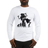 Robot Apocalypse Long Sleeve T-Shirt