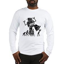 Robot Apocalypse Long Sleeve T-Shirt