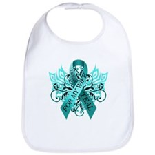 I Wear Teal for my Wife Bib