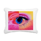 Human eye - Rectangular Canvas Pillow