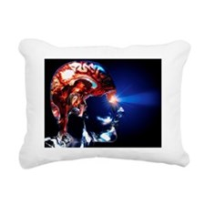Human brain - Rectangular Canvas Pillow