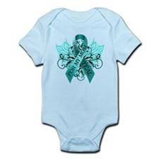 I Wear Teal for my Mom Infant Bodysuit