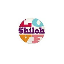 I Love Shiloh Mini Button