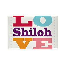 I Love Shiloh Rectangle Magnet