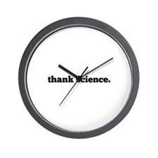 thank science. Wall Clock