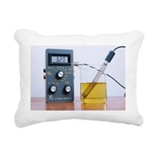 Measuring acidity - Rectangular Canvas Pillow