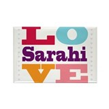 I Love Sarahi Rectangle Magnet (10 pack)