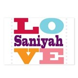 I Love Saniyah Postcards (Package of 8)