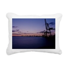 Container cranes - Rectangular Canvas Pillow