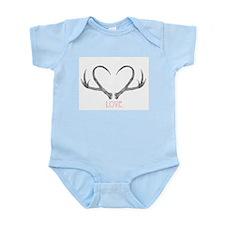 Antler Love Infant Bodysuit