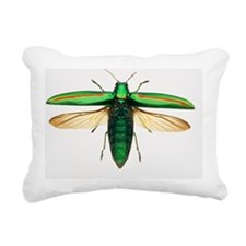 Jewel beetle - Rectangular Canvas Pillow