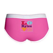 I Love Rylee Women's Boy Brief