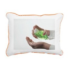 Antibacterial soap - Rectangular Canvas Pillow