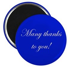 "Thank You 2.25"" Magnet (100 pack)"